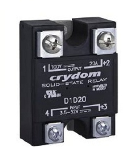 crydom solid state relay d1d20 ,d1d40 , dc control on crydom d d relay  wiring diagrams