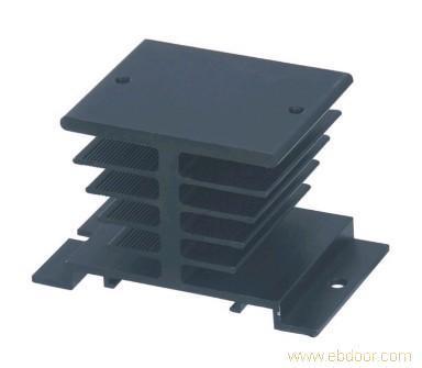 Three Phase Aluminum Alloy Heat Sink SSR Dissipation Solid State Relay Heatsink Heat Sink